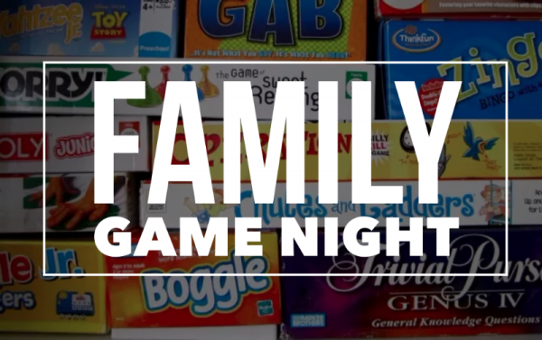 Bring Your Favorite Game And Dessert To Share Well Eat Pizza Play Games Enjoy Getting Know Other Families In Our Community The Night Is Open