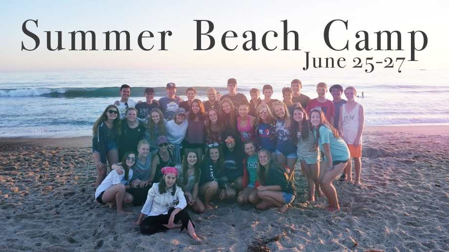 Summer Beach Camp - PLC Youth